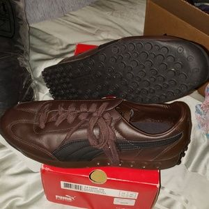 Puma Easy Rider Leather preowned with box